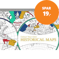 Produktbilde for Colour Your Own Historical Maps (BOK)