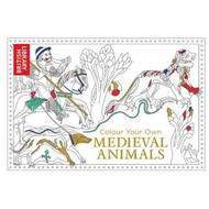 Produktbilde for Colour Your Own Medieval Animals (BOK)