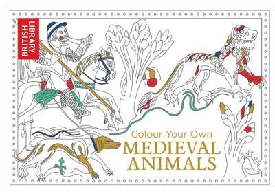 Colour Your Own Medieval Animals (BOK)