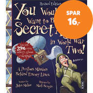 Produktbilde for You Wouldn't Want To Be A Secret Agent During World War Two (BOK)