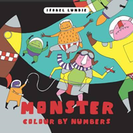 Colour By Numbers: Monster Mayhem (BOK)
