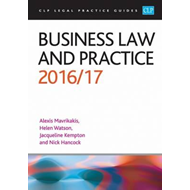 Business Law and Practice 2016/17 (BOK)