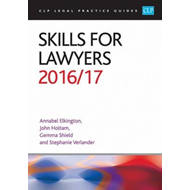 Skills for Lawyers 2016/17 (BOK)