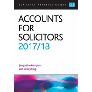 Accounts for Solicitors 2017/2018 (BOK)