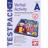 11+ Verbal Activity Year 4/5 Testpack A Papers 1-4 (BOK)