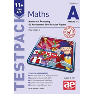 11+ Maths Year 4/5 Testpack a Papers 1-4 (BOK)