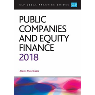 Public Companies and Equity Finance 2018 (BOK)