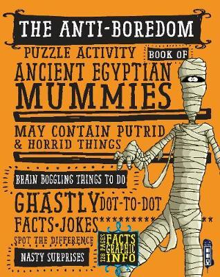 Anti-Boredom Puzzle Activity Book of Ancient Egyptian Mummie (BOK)