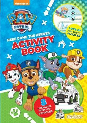 Paw Patrol Press-Out Activity Book (BOK)