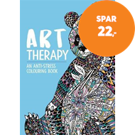Produktbilde for Art Therapy: An Anti-Stress Colouring Book for Adults (BOK)