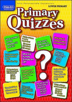 Primary Quizzes Lower (ages 5-7) (BOK)
