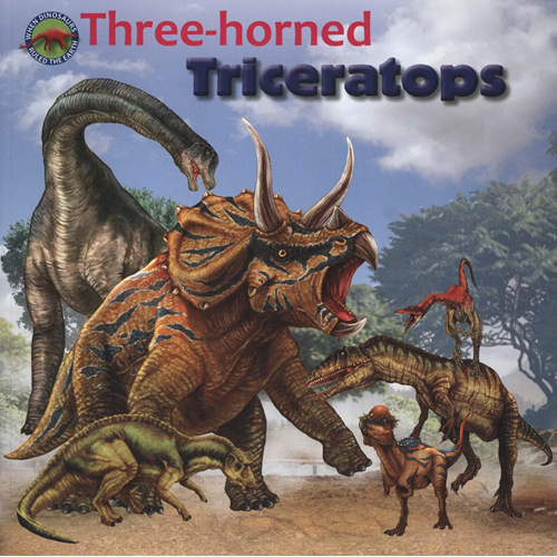 Three-horned Triceratops (BOK)