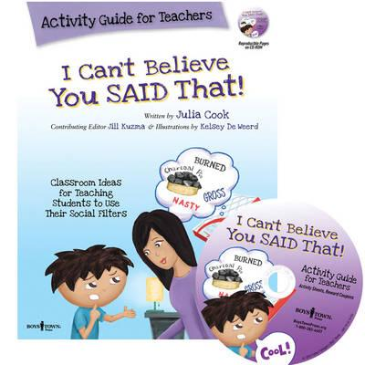 I Can't Believe You Said That! Activity Guide for Teachers (BOK)