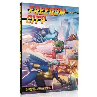 Mutants and Masterminds RPG Freedom City Campaign City (BOK)