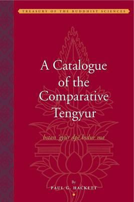 Catalogue of the Comparative Tengyur (bstan'gyur dpe bsdur m (BOK)