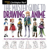 Produktbilde for Master Guide to Drawing Anime (BOK)