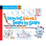 Produktbilde for Drawing Animals Shape by Shape (BOK)