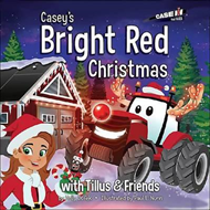 Produktbilde for Casey's Bright Red Christmas (BOK)