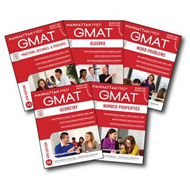 GMAT Quantitative Strategy Guide Set (BOK)