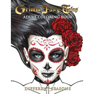 Grimm Fairy Tales Adult Coloring Book Different Seasons (BOK)