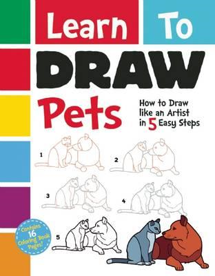 Learn To Draw Pets (BOK)