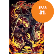 Produktbilde for Zorro Swords of Hell (BOK)