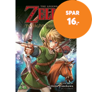 Produktbilde for The Legend of Zelda: Twilight Princess, Vol. 4 (BOK)