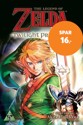 The Legend of Zelda: Twilight Princess, Vol. 5 (BOK)