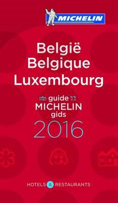 Michelin Guide Belgium Luxembourg (Belgique Luxembourg) (BOK)