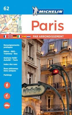 Paris par arrondissement - Michelin City Plan 062 (BOK)