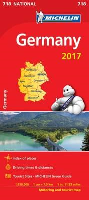 Germany 2017 National Map 718 (BOK)