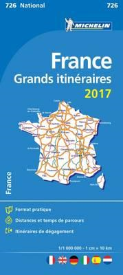 France Route Planning 2017 National Map 726 (BOK)