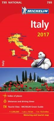 Italy 2017 National Map 735 (BOK)