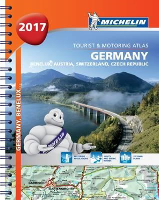 Germany/Austria Atlas 2017 (BOK)