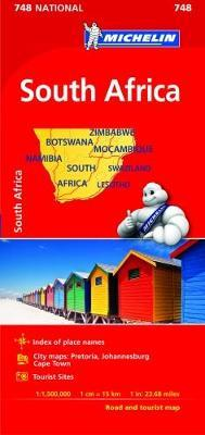 South Africa- Michelin National Map 748 (BOK)