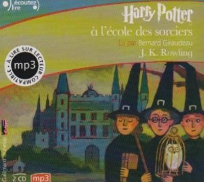 Harry Potter a L'Ecole DES Sorciers - MP3 CD (BOK)