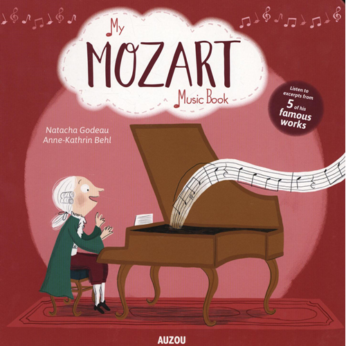 My Mozart Music Book (BOK)