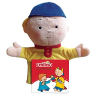 Caillou, My First Hand Puppet Book (BOK)