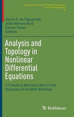 Analysis and Topology in Nonlinear Differential Equations (BOK)