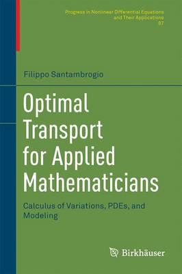 Optimal Transport for Applied Mathematicians (BOK)
