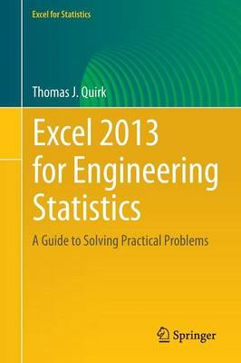 Excel 2013 for Engineering Statistics (BOK)