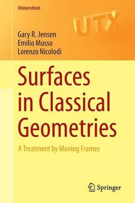 Surfaces in Classical Geometries (BOK)