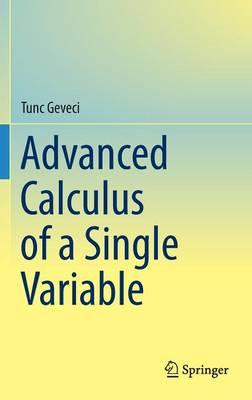 Advanced Calculus of a Single Variable (BOK)