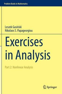 Exercises in Analysis (BOK)