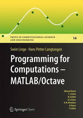 Programming for Computations - MATLAB/Octave (BOK)