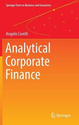 Analytical Corporate Finance (BOK)