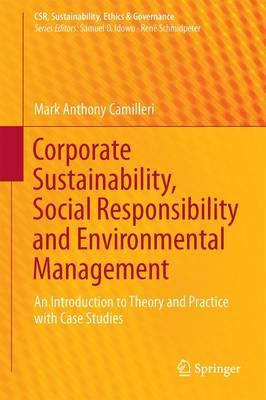 Corporate Sustainability, Social Responsibility and Environm (BOK)