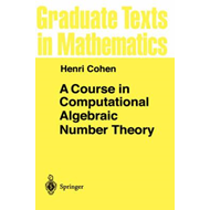 Course in Computational Algebraic Number Theory (BOK)