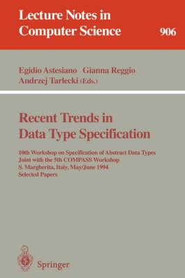 Recent Trends in Data Type Specification (BOK)