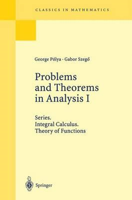 Problems and Theorems in Analysis I (BOK)